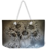 Still Life - Vase With 6 Sunflowers Weekender Tote Bag