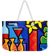 Still Life With 3 Fish  Weekender Tote Bag