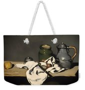 Still Life With A Kettle Weekender Tote Bag