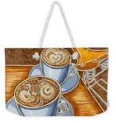 Still Life With Bicycle Weekender Tote Bag