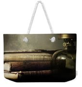 Still Life With Books And The Lamp Weekender Tote Bag