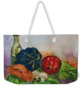Still Life With Bottle Weekender Tote Bag