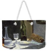 Still Life With Bottles Weekender Tote Bag