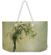 Still Life With Dill And A Cucumber Weekender Tote Bag by Priska Wettstein