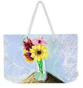 Still Life With Flowers Weekender Tote Bag