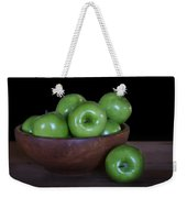 Still Life With Green Apples Weekender Tote Bag