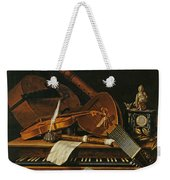 Still Life With Musical Instruments Weekender Tote Bag