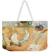 Still Life With Onions Weekender Tote Bag