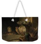 Still Life With Peacocks Weekender Tote Bag