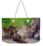 Still Life With Pheasants  Weekender Tote Bag