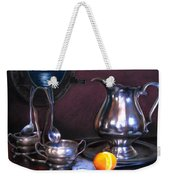 Still Life With Porthole Weekender Tote Bag