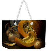 Still Life With Pumpkin Weekender Tote Bag