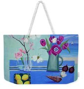 Still Life With Sea View Sold Weekender Tote Bag