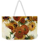 Still Life With Sunflowers Weekender Tote Bag