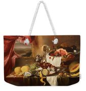 Still Life With View Weekender Tote Bag