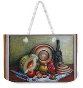 Still Life With Water Melon Weekender Tote Bag