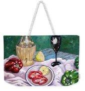 Wine And Capsicum Weekender Tote Bag