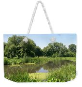 Still Summer Morning Weekender Tote Bag