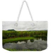 Still Water Reflecting Weekender Tote Bag