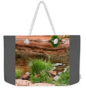 Still Waters At Slide Rock Weekender Tote Bag
