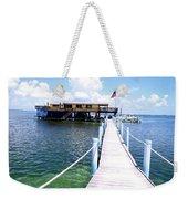 Stiltsville Dock Weekender Tote Bag