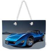 Stingray Blues Weekender Tote Bag