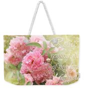 Stirred Memories Weekender Tote Bag