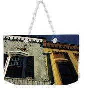 Stitched Buildings Weekender Tote Bag