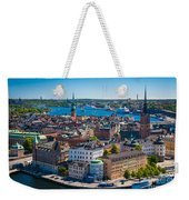 Stockholm From Above Weekender Tote Bag