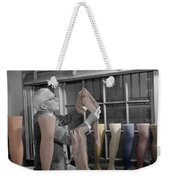 Stocking Inspector Weekender Tote Bag