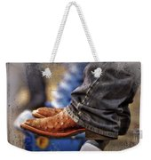 Stockshow Boots IIi Weekender Tote Bag by Joan Carroll