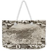 Stockton San Joaquin County California  1895 Weekender Tote Bag by California Views Mr Pat Hathaway Archives