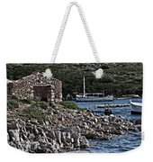 Roman Port Of Sa Nitja In Minorca - Stone And Sea Weekender Tote Bag