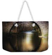 Stone Arch Bridge - Brick Texture Weekender Tote Bag