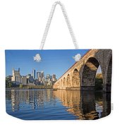 Stone Arch By Day Weekender Tote Bag