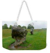 Stone At Avebury Weekender Tote Bag