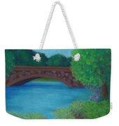 Stone Bridge Weekender Tote Bag