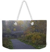 Stone Bridge In Autumn 3 Weekender Tote Bag