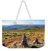 Stone Cairns Weekender Tote Bag