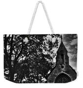 Stone Church In Black And White Weekender Tote Bag