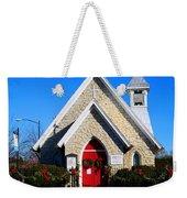 Stone Church Weekender Tote Bag