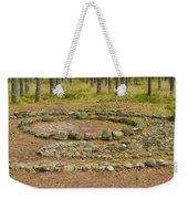 Stone Circle Weekender Tote Bag