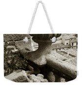 Stone Embellishments Of Jesuits Church Weekender Tote Bag