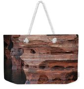 Stone Faced Weekender Tote Bag