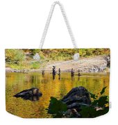Stone Gods Of The River Weekender Tote Bag