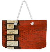 Stone On Brick Weekender Tote Bag