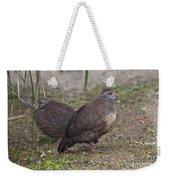 Stone Partridges Weekender Tote Bag