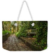 Stone Path Through A Forest Weekender Tote Bag by Jess Kraft