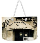 Stone Pony Weekender Tote Bag by Colleen Kammerer
