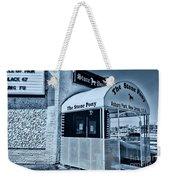 Stone Pony Cool Blue Weekender Tote Bag